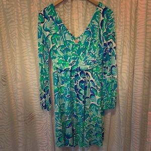 Lilly Pulitzer Long Sleeve Dress
